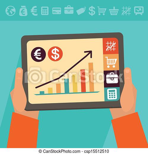 Vector online banking concept - csp15512510