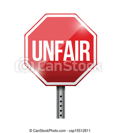 vector clip art of unfair red stop sign illustration Bullying Prevention Clip Art cyberbullying clipart