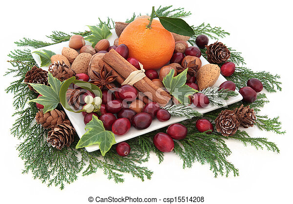 Fruit Nut and Spice Assortment - csp15514208