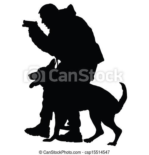 Police Dog 1 - csp15514547