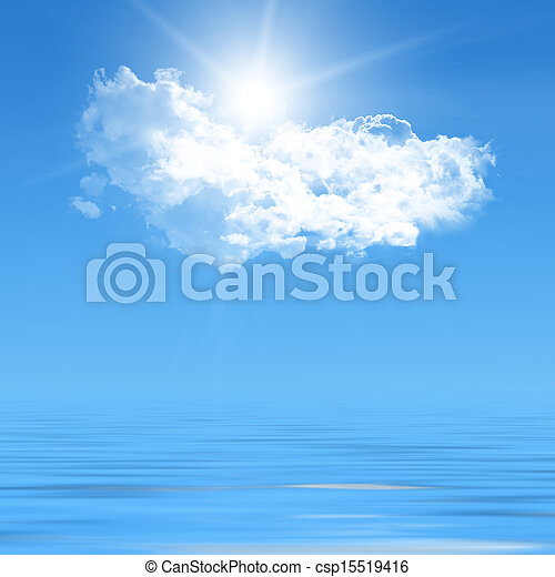 blue sky - csp15519416