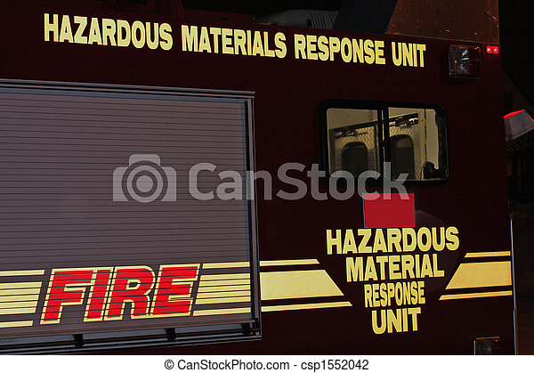 Emergency Response Truck - csp1552042