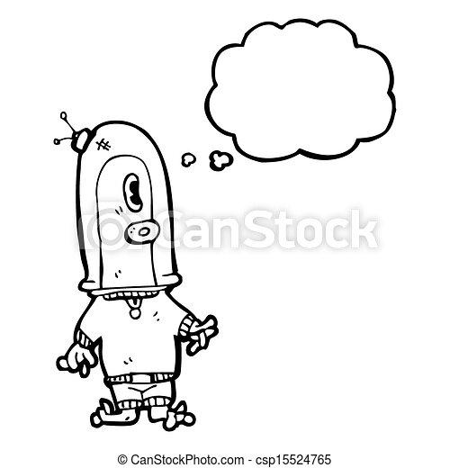 Stock photo cartoon alien spaceman stock image images royalty