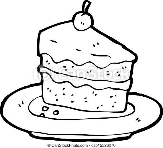 Dessin Birthday Cake