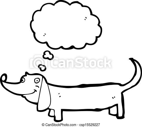 Illustration vecteur de dessin anim teckel csp15529227 - Dessin teckel ...