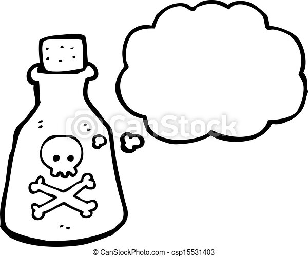 Vector Clipart of poison cartoon csp15531403 - Search Clip Art ...