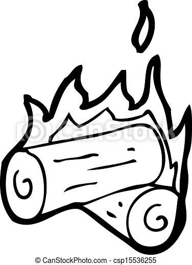 Burning Wood Clipart cartoon burning wood logs