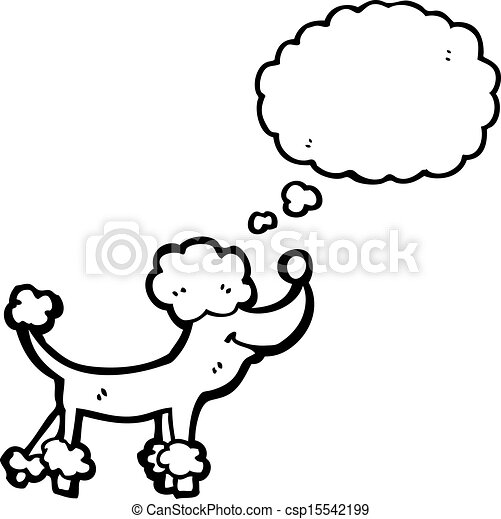 Vecteurs eps de dessin anim caniche csp15542199 - Caniche dessin ...