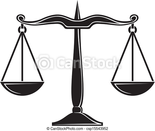 clipart vector of scales of justice csp15543952 search Google Images Scales of Justice Black and White Checks and Balances Clip Art