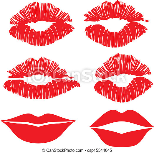 how to draw puckered lips