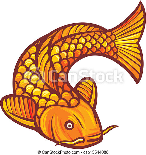 Clip Art Koi Fish Clipart koi illustrations and stock art 1020 illustration vector fish of a japanese or chinese