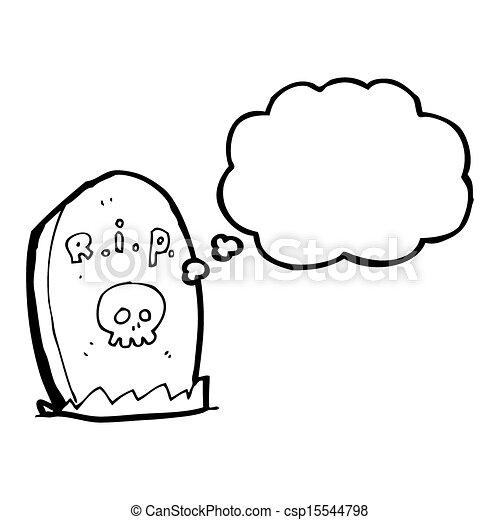Illustration de dessin anim pierre tombale csp15544798 recherchez des cliparts vecteur des - Pierre tombale dessin ...