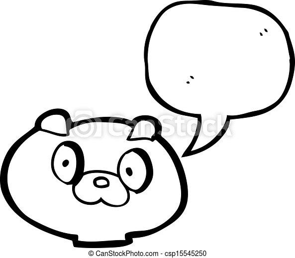 Faces Vector Art Vector Cartoon Puppy Face