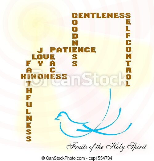 fruits of the holy spirit - csp1554734