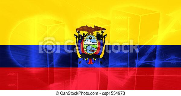 Ecuador Vector Flag Flag of Ecuador Csp1554973