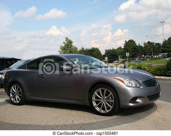 Dark Grey Automobile - csp1555481