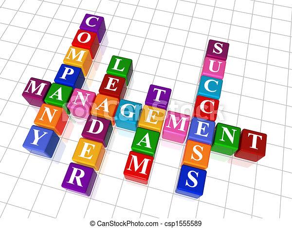crossword 19 - management - csp1555589
