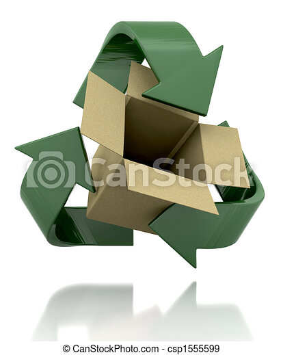 recycle symbol - csp1555599