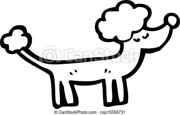 Vecteurs de dessin anim caniche csp15559731 recherchez des images graphiques vecteurs eps - Dessin caniche ...