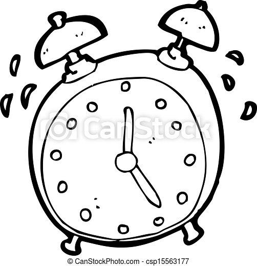 Colorea Tus Dibujos Reloj Despertador Para Colorear Y