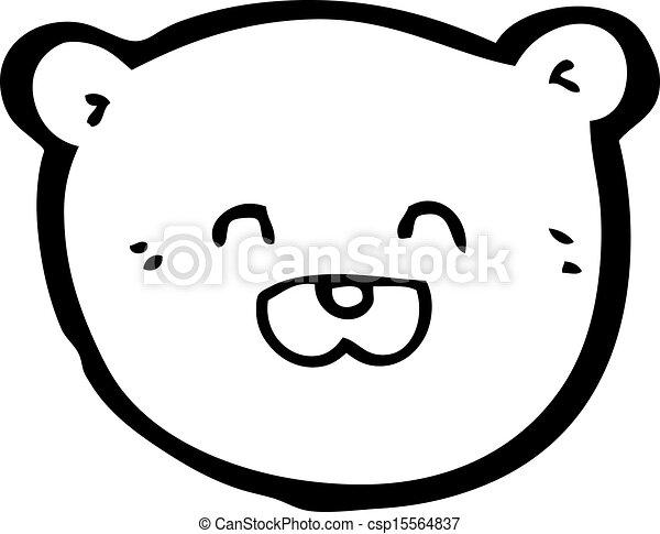 Teddy Bear Head Drawing Vector Teddy Bear Head