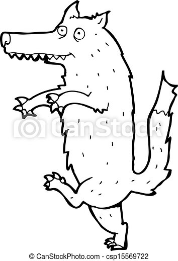 Vector Illustration of big bad wolf cartoon csp15569722 - Search ...
