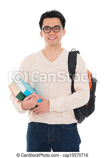 Asian adult student - csp15570716
