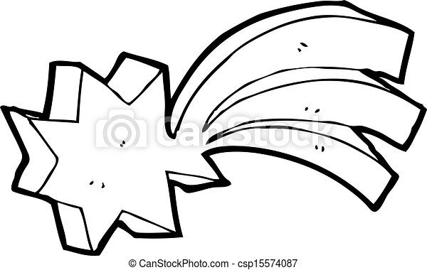 Star Cartoon Drawing Vector Shooting Star Cartoon
