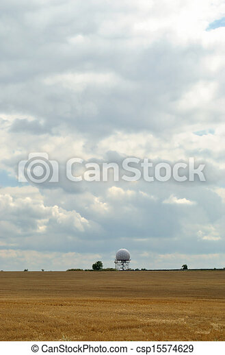Agriculture field in autumn - csp15574629