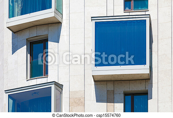 Modern residential  building - csp15574760