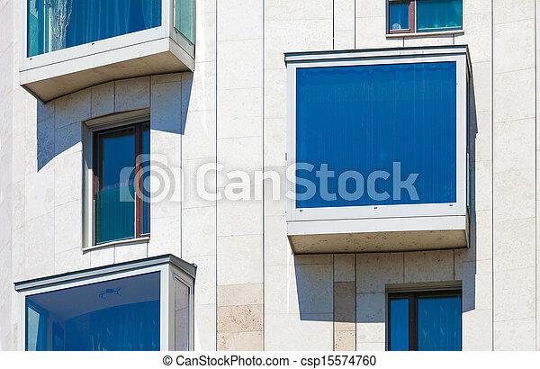 Modern residential  building - csp15574760