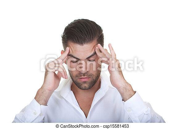 business man thinking - csp15581453
