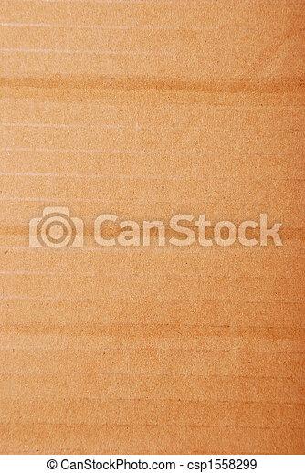brown corrugate cardboard - csp1558299