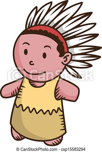Vector of indian cartoon csp15583289 - Search Clip Art ...