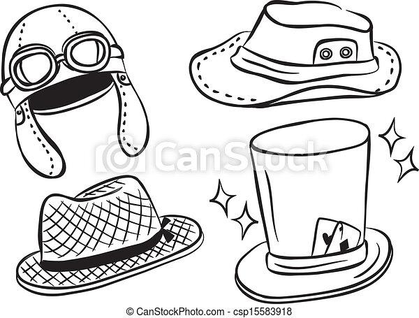 Pilot Hat Clipart