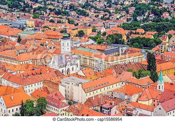 St. Mark's Church Zagreb - csp15586954