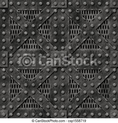 Metal Strong Locked Box - csp1558719