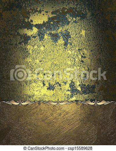 stock illustration zwei gewebe gold geteilt sch ne muster stock illustration. Black Bedroom Furniture Sets. Home Design Ideas