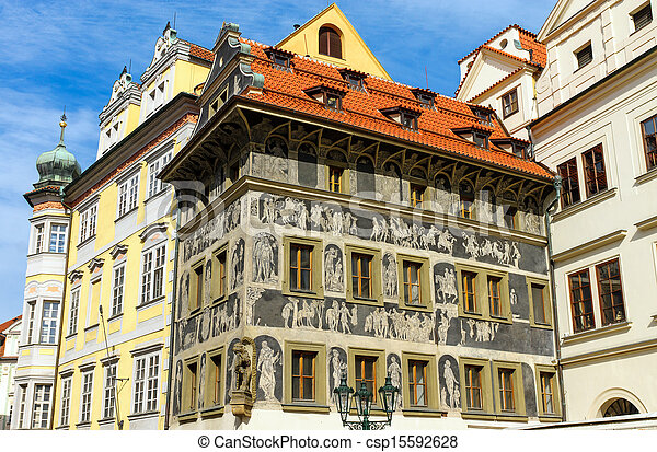 Beautiful historic buildings - csp15592628