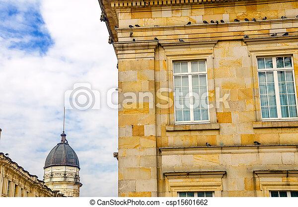 Bogota Government Buildings - csp15601662