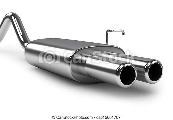 Automobile exhaust pipe - csp15601787