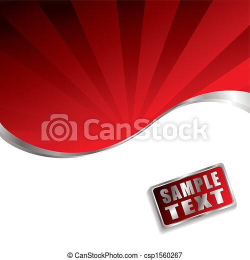 red radiate bevel - csp1560267