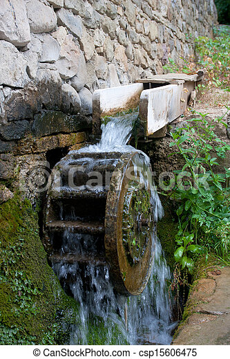 old historic sawmill - csp15606475
