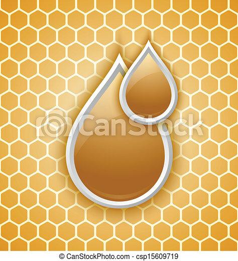 Mésanges de miel goutte à goutte