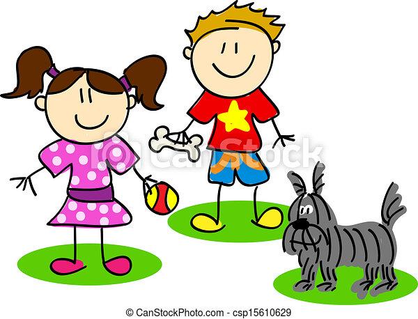 Fun Stick Figures Fun Stick Figure Cartoon Kids