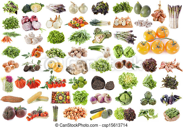 group of vegetables - csp15613714