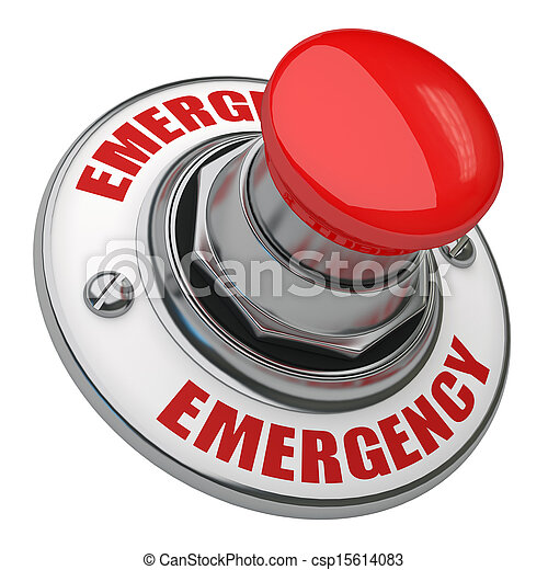 Emergency Button - csp15614083