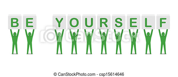 Yourself Drawings be Yourself Csp15614646