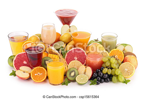fruit juice - csp15615364