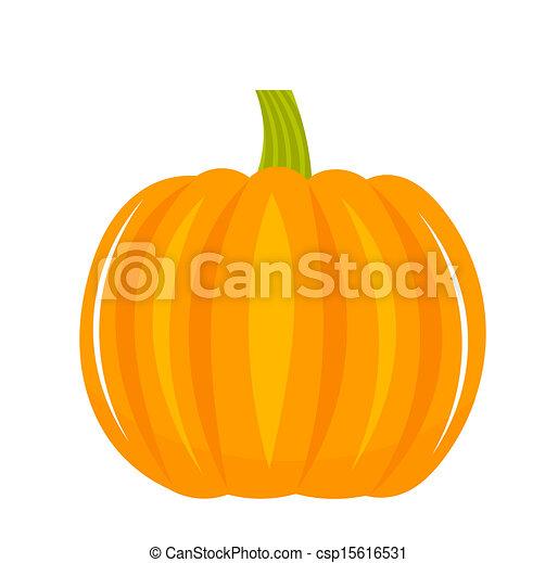 Pumpkin vector illustration - csp15616531